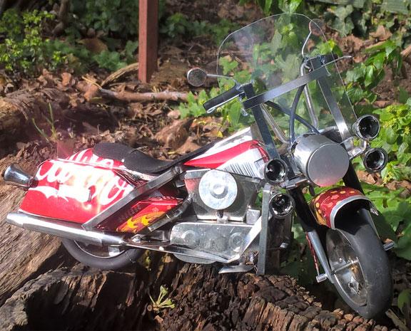 Cola motorbike
