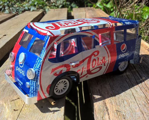 Pepsi campervan