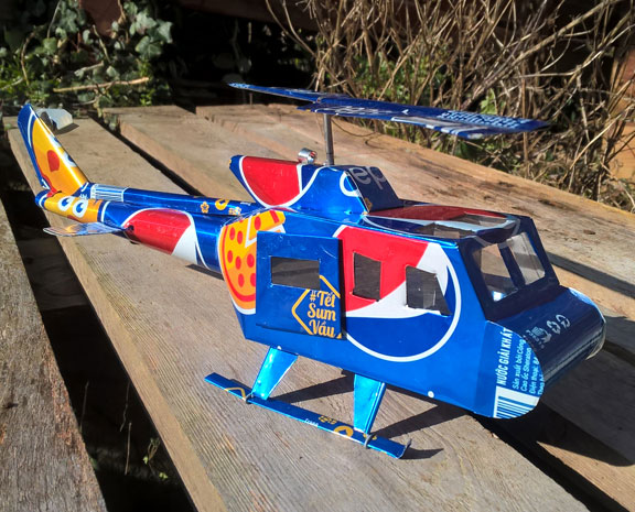 Pepsi helicopter