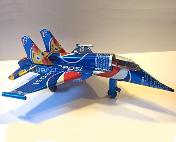 Pepsi jet plane